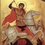 23 Aprilie, ziua pomenirii sfântului şi măritului marelui mucenic Gheorghe, purtătorul de biruinţă